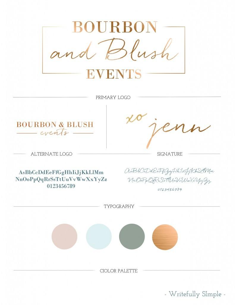 bourbon & blush events