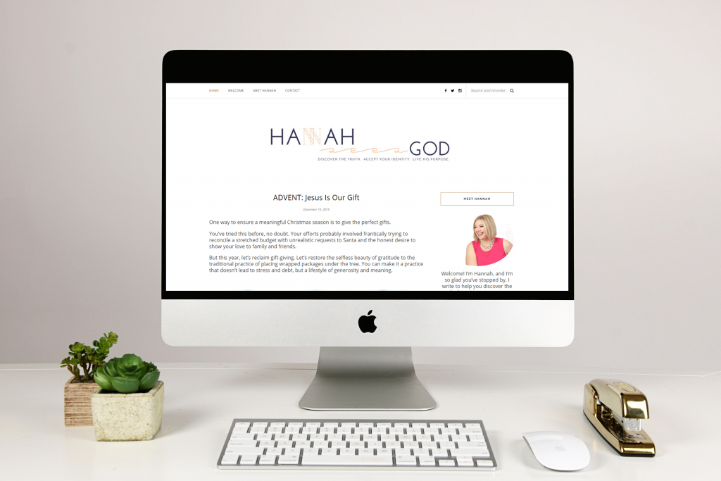 Hannah Sees God Website