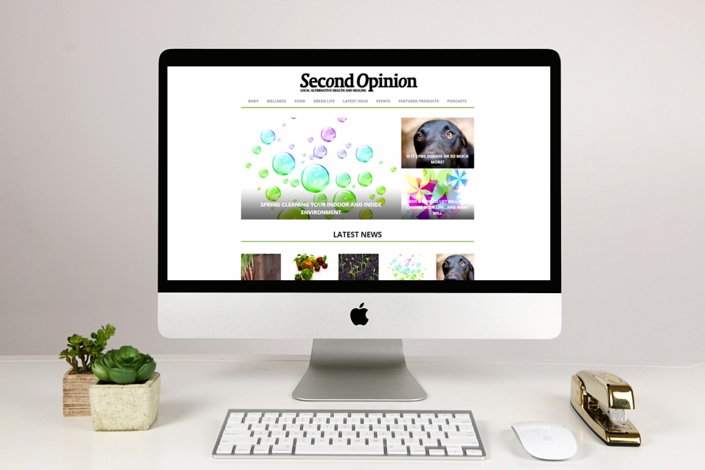 Second Opinion Magazine Website