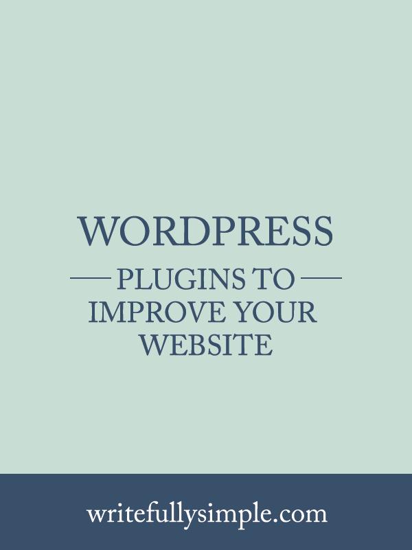 WordPress Plugins to Improve Your Website