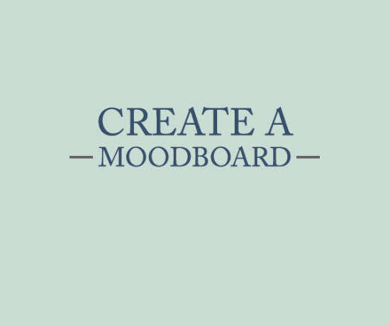 create a moodboard