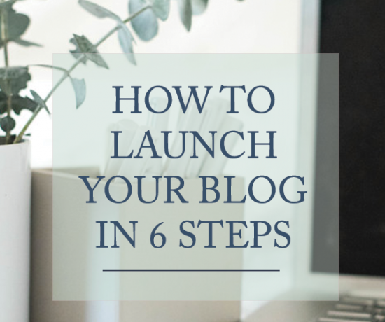 How to Launch Your Blog in 6 Ways | www.writefullysimple.com