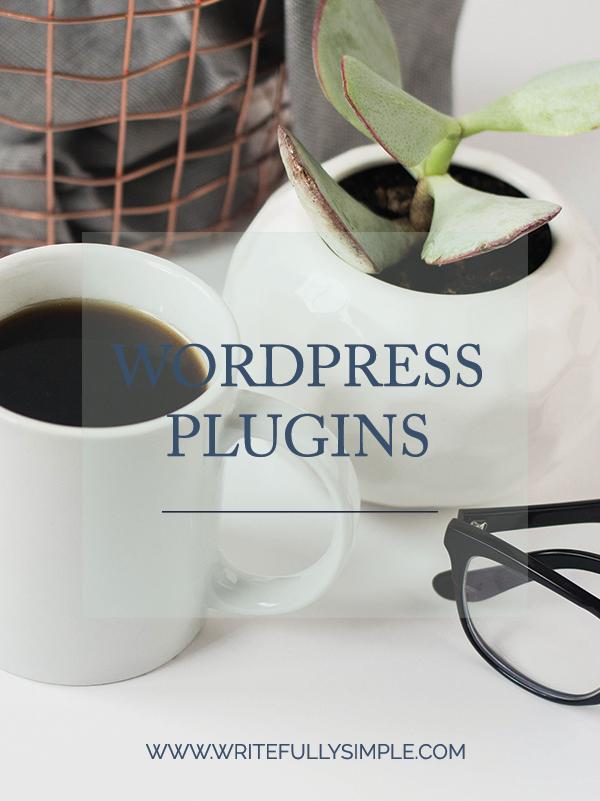 WordPress Plugins | Writefully Simple